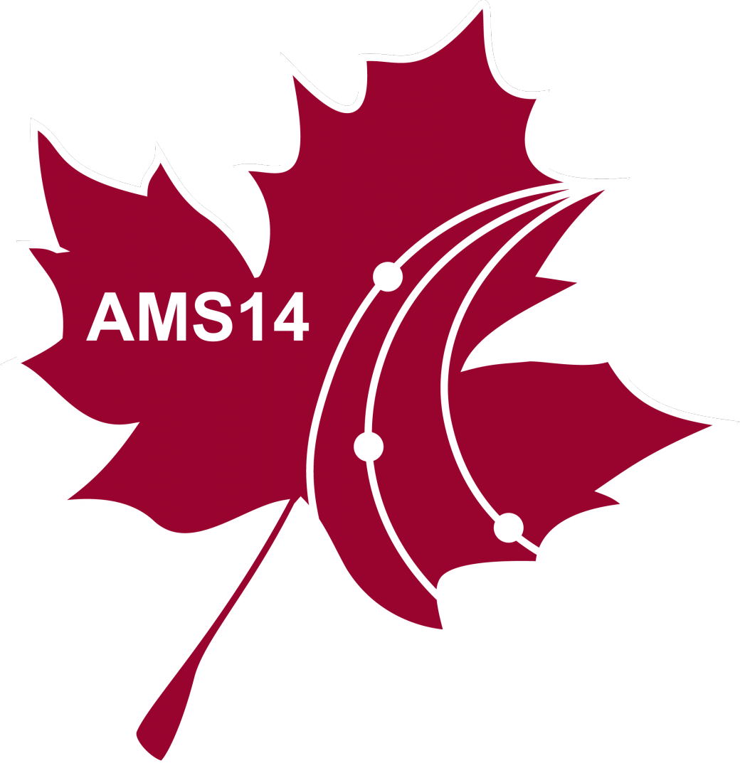 14th AMS Conference, August 14-18, 2017